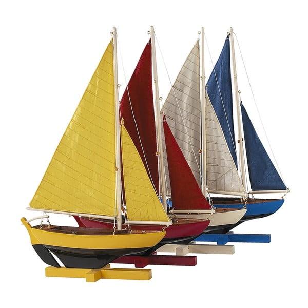 Set 4 ks modelů lodí Sunset Sailors