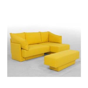 Žlutá  modulová pohovka Feydom Choice