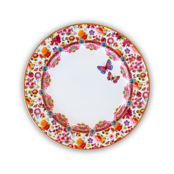 Porcelánový mělký talíř Melli Mello Isabelle, 30.5cm