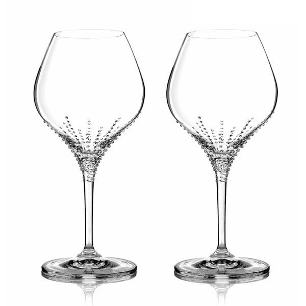 Sada 2 sklenic na bílé víno Enyo se Swarovski Elements v luxusním balení
