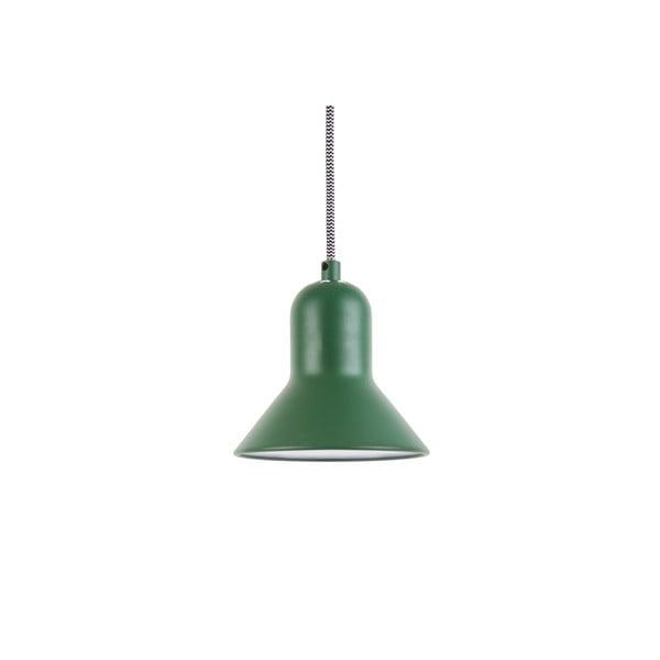 Zelené závěsné svítidlo Leitmotiv Slender, výška14,5cm