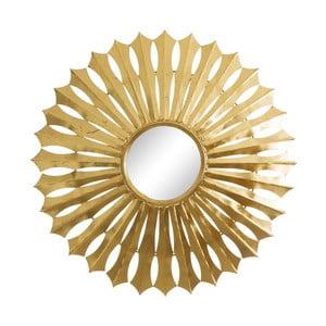 Oglindă Ixia Geometric Sun, auriu