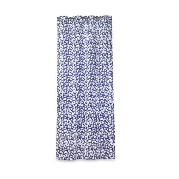 Závěs Gira Blue, 135x270 cm