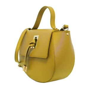 Žlutá kožená kabelka Maison Bag Gin