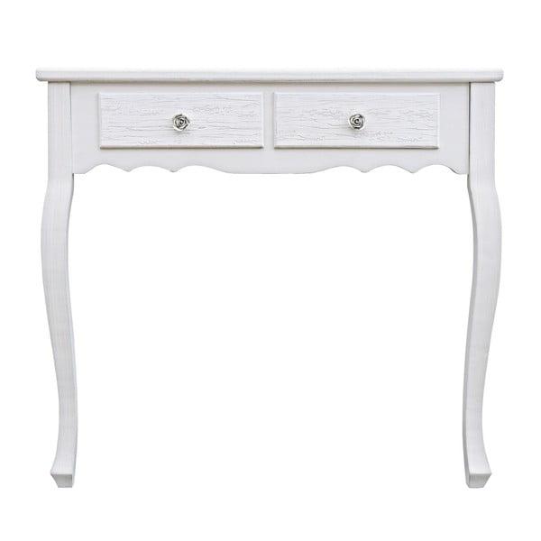 Konzolový stolek Blanc, šířka 80 cm