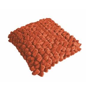 Oranžový polštář ZicZac Pebble, 45x45cm