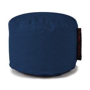 Modrý sedací puf Pusku pusku Mini