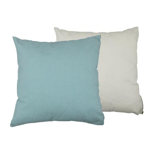Sada 2 polštářů s výplní Karup Deco Cushion Peppermint/Natural,45 x 45 cm