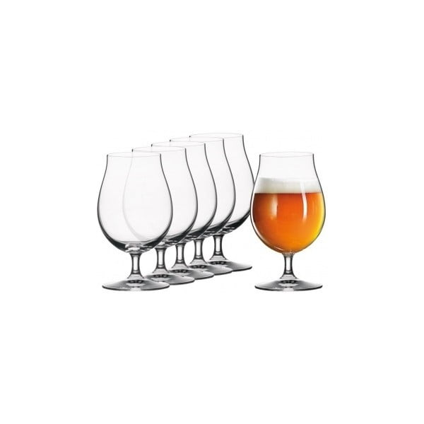 Sada 6 sklenic na pivo Tulip