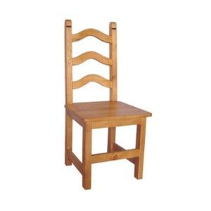 Židle SIT z voskované borovice