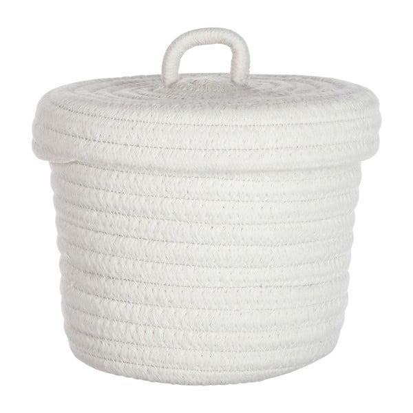 Sada 2 košů Cotton White