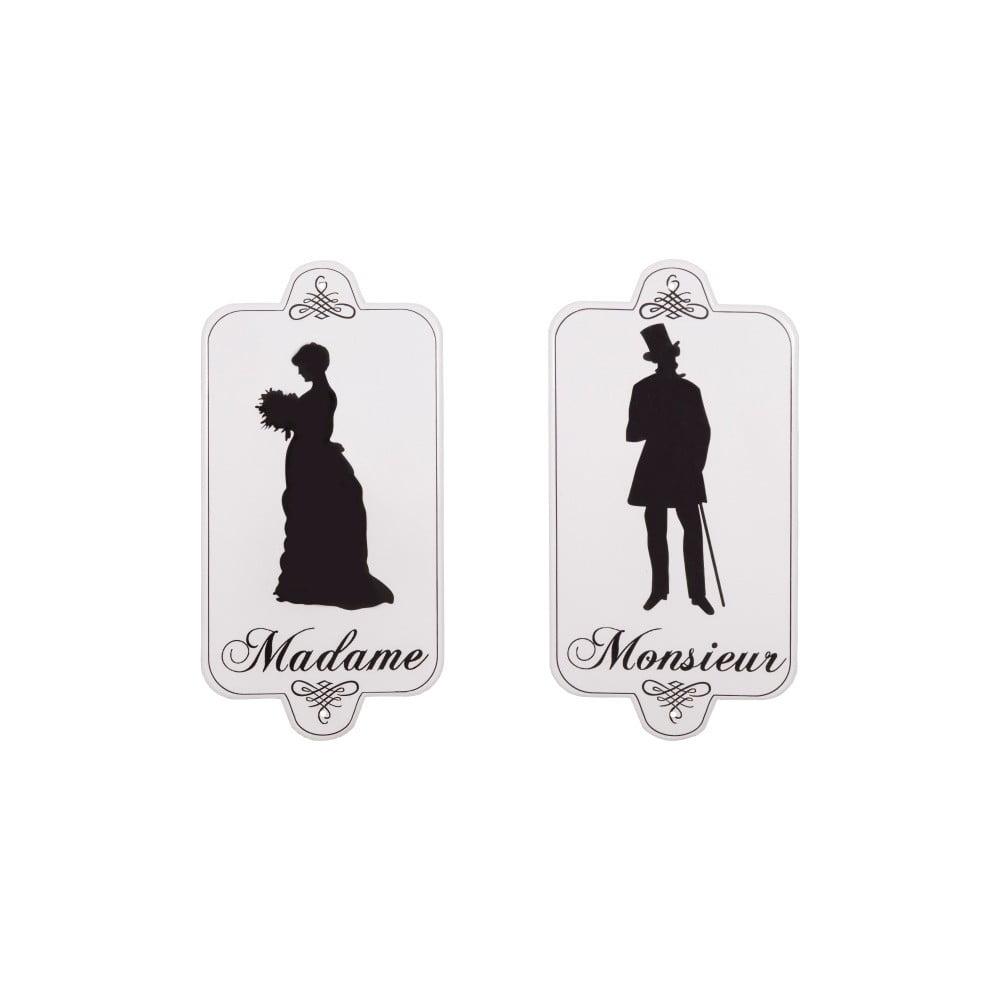 Sada 2 cedulí na toaletu Antic Line Madame Monsieur Antic Line