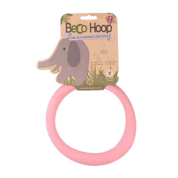 Hračka pro psa Hoop Large, růžová