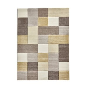 Béžovožlutý koberec Think Rugs Brooklyn, 120x170cm