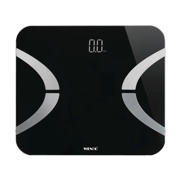 Czarna waga łazienkowa Wenko Scale