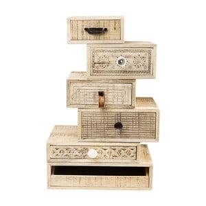 Komoda se 6 zásuvkami  Kare Design Drawer Tower