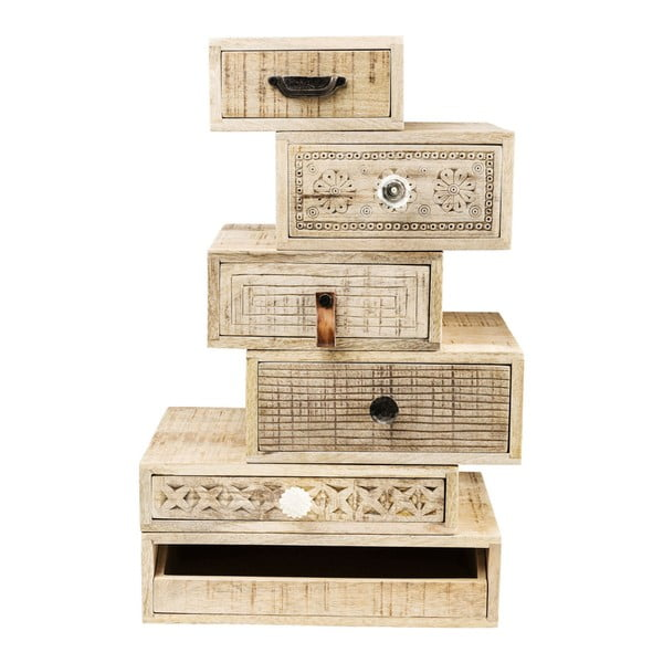 Komoda so 6 zásuvkami Kare Design Drawer Tower