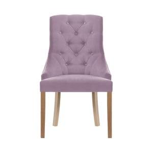 Světle fialová židle Jalouse Maison Chiara