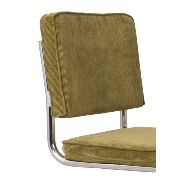 Sada 2 zelených židlí Zuiver Ridge Rib