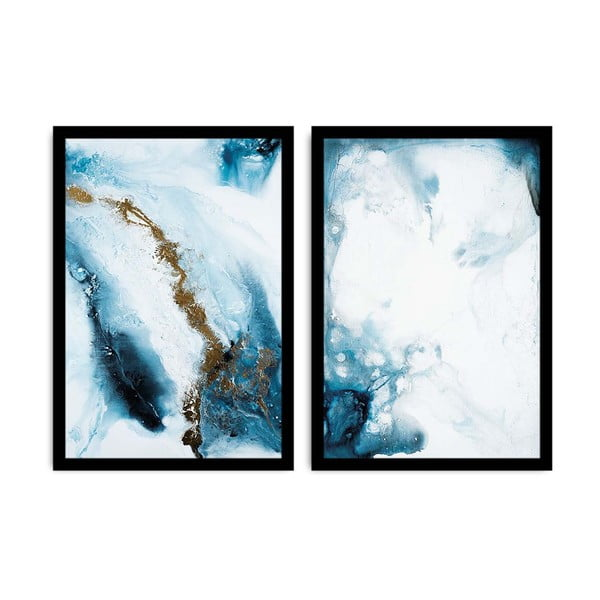 Sada 2 obrazů Alpyros Azulo