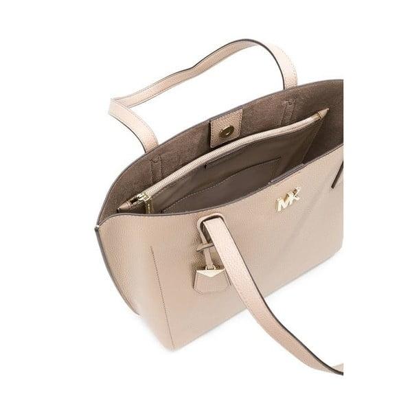 Světle hnědá kožená kabelka Michael Kors Ana