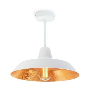 Lustră Bulb Attack Cinco Basic, alb – auriu de la Bulb Attack