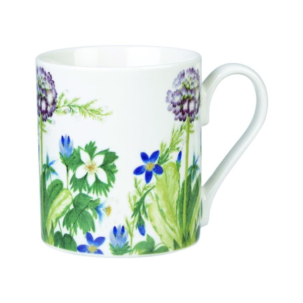 Sada 4 hrnků Churchill China Himalyan Flowers, 250 ml