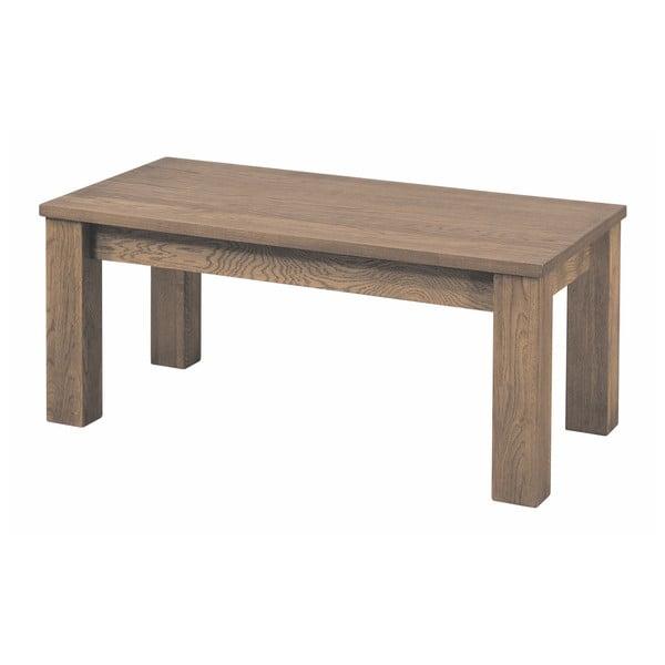 Konferenční stolek v dřevěném dekoru rustikálního dubu Szynaka Meble Laura