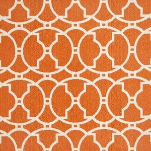 Oranžový koberec Nourison Baja Paita, 290 x 201 cm