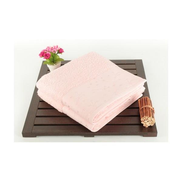 Sada 2 osušek Tomur Pink, 50x90 cm