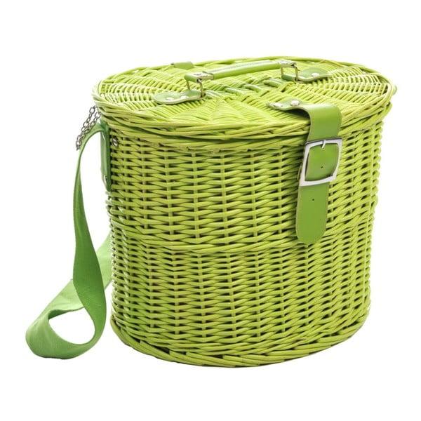 Piknikový koš Picnic Green, 35x30x28 cm