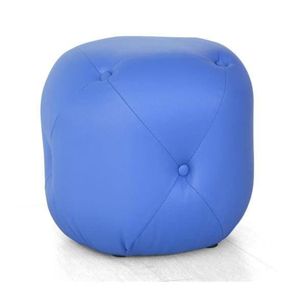 Sedací puf Cubis, modrý
