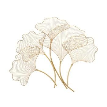 Decorațiune pentru perete Mauro Ferretti Glam Leaf, 79x68cm, auriu de la Mauro Ferretti