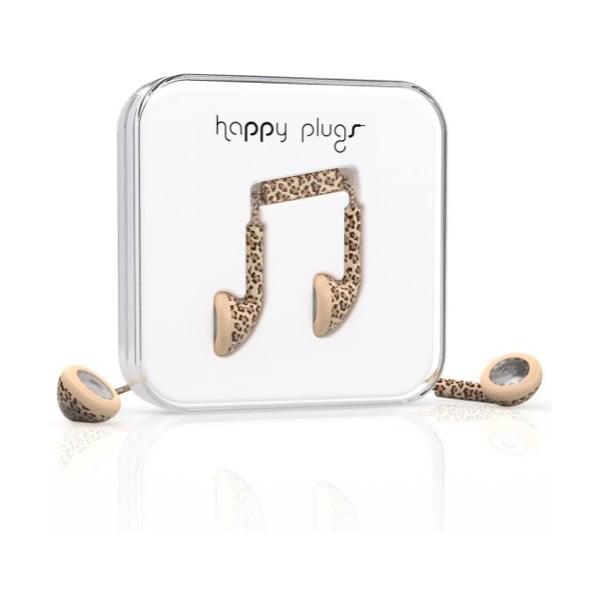 Sluchátka Happy Plugs Leopard