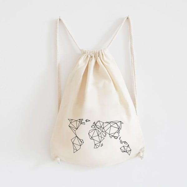 Plátěný batoh Geometrische Erde