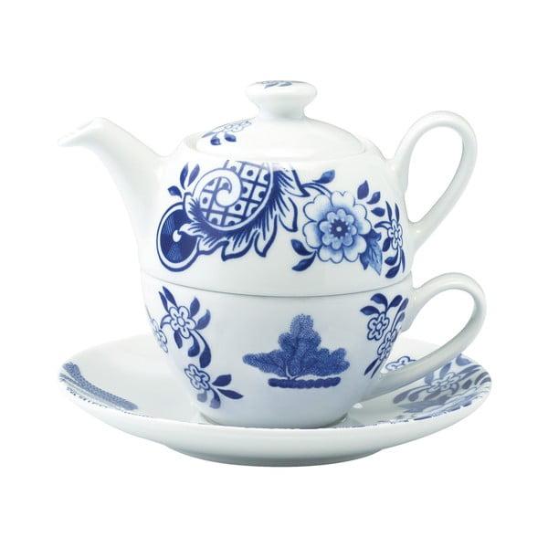 Porcelánová čajová konvice se šálkem Willow Love Story