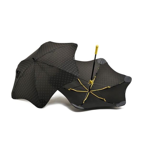 Vysoce odolný deštník Blunt Mini+ s reflexním potahem, žlutý