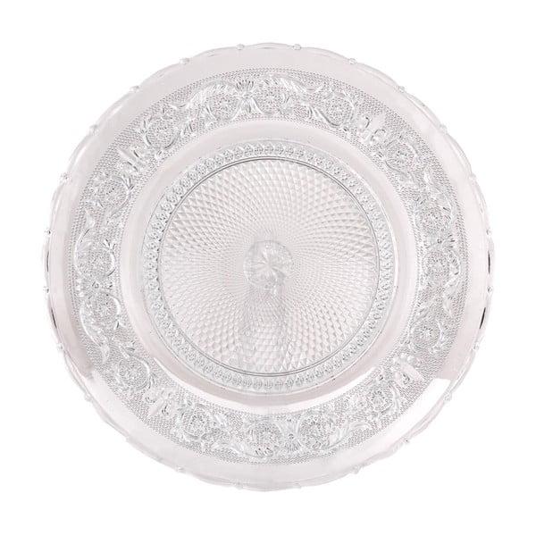 Skleněný talíř Clayre, 30 cm
