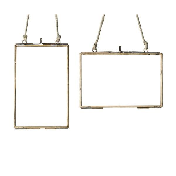 Sada 2 závěsných rámečků Parlane, 10x15.5 cm
