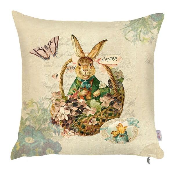 Povlak na polštář Apolena Easter Rabbit, 43x43 cm