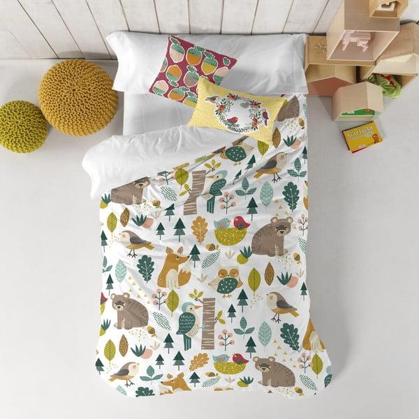 Detské bavlnené obliečky Moshi Moshi Harvestwood, 140 x 200 cm