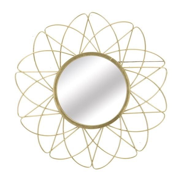 Nástěnné zrcadlo ve zlaté barvě Mauro Ferretti Amelie, ⌀81,5cm
