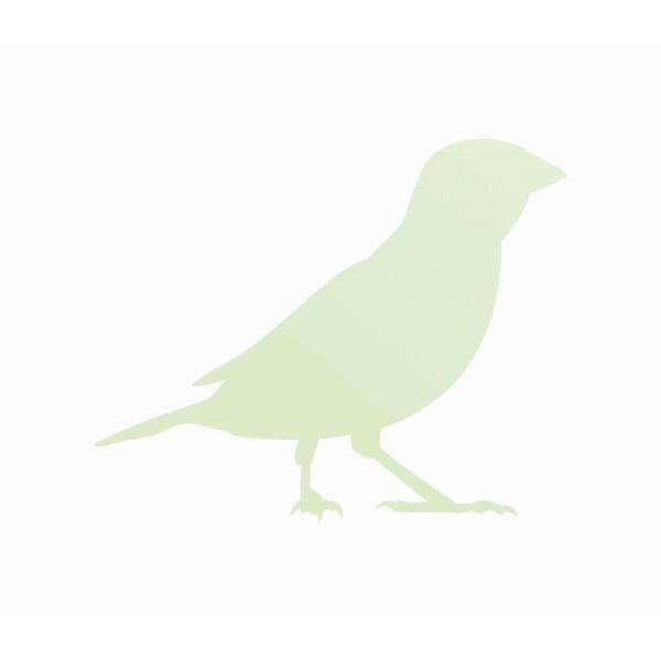 Samolepka svítící ve tmě Pták
