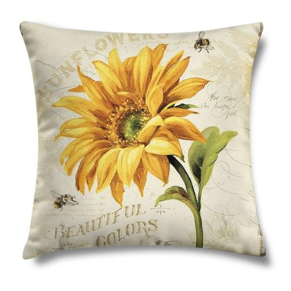 Polštář Sunflower, 43x43 cm