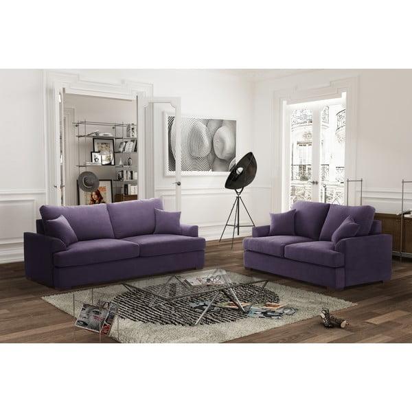 Dvoudílná sedací souprava Jalouse Maison Irina, fialová