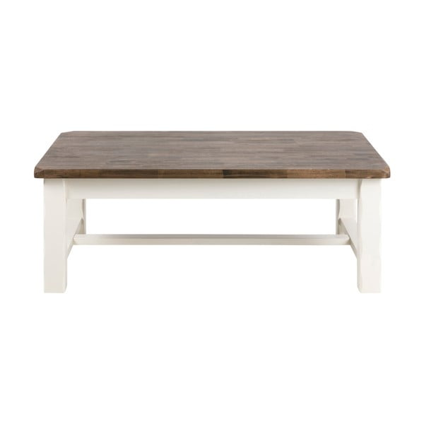 Konferenčný stolík z dreva gumovníka Actona Lyon, 130 x 75 cm