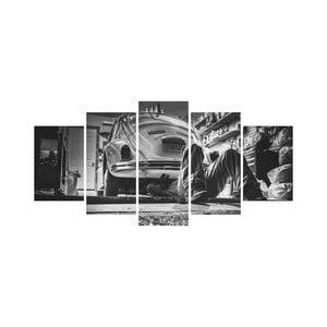 Vícedílný obraz Black&White no. 71, 100x50 cm