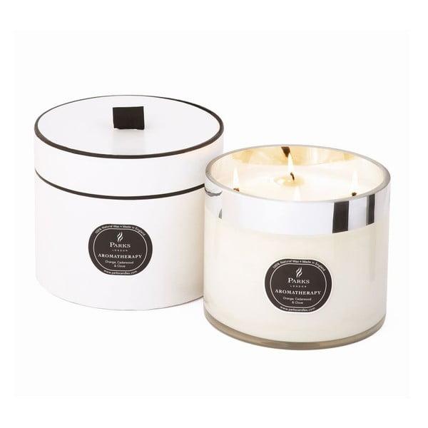 Svíčka Aromatherapy Candles, Orange Cedarwood & Clove, 100 hodin hoření