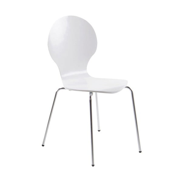 Bílá jídelní židle Actona Marcus