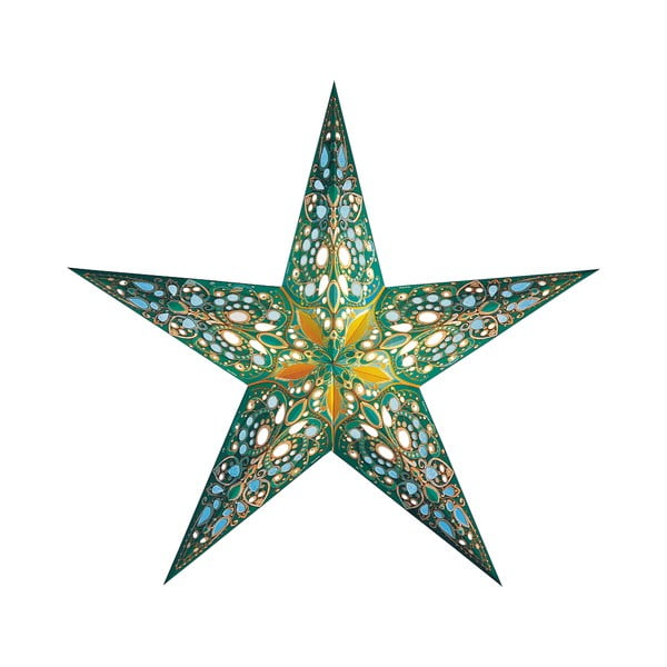 Dekorativní vánoční hvězda Monsoon